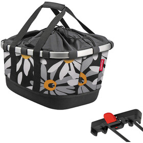 KlickFix Reisenthel GT Bike Basket for Racktime, margarite